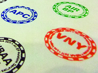 Casino Chip Stamps