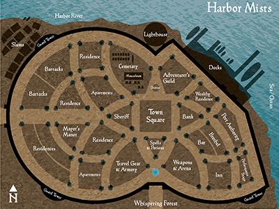 D d harbor mists city