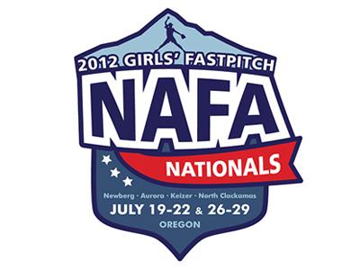 Nafa nationals t shirt  blue red