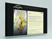 Floral Designer Website