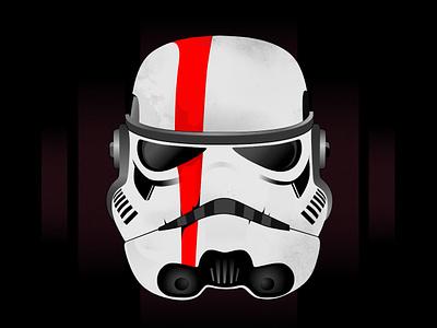 Stormtrooper Ill vector illustration stormtrooper