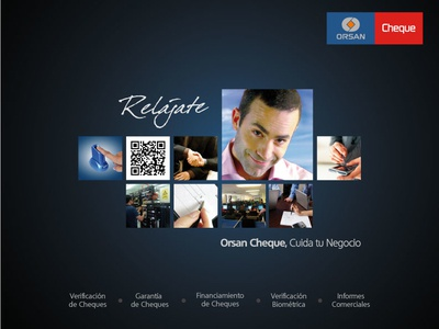 Orsan Cheque design branding