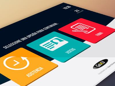 Sca App Ui web design