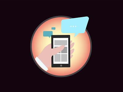 Tap vector illustration