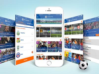 Entel FC ui web