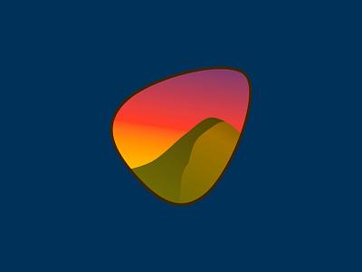 Mountain icon ui