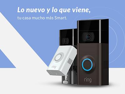 Smart Home Banner design ui web illustration