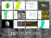 IQ STRUCTURES / presentation layouts