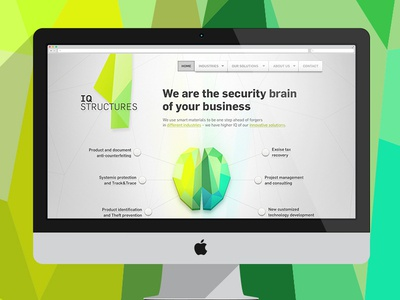 IQ STRUCTURES / homepage