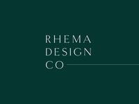 Rhema Design Co Branding