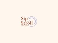 Sip & Stroll Logo