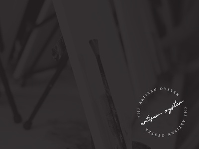 The Artisan Oyster, Sub-Mark brand design logo design logo sub-mark branding