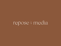 Repose Co. Media Branding // Secondary Logo