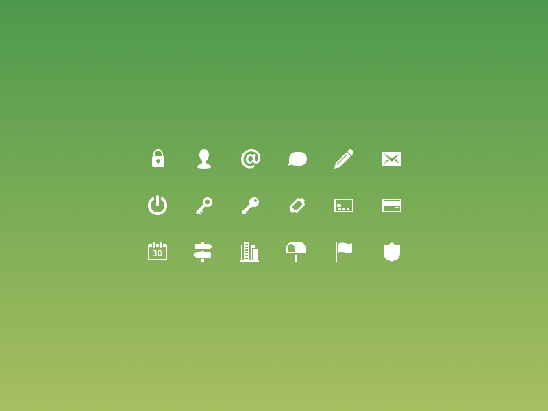 Form icons