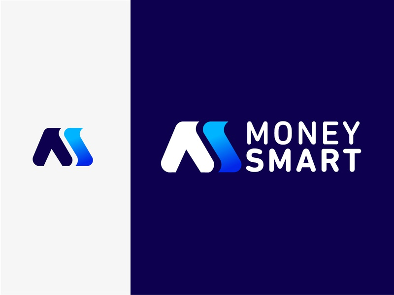 Money Smart Logo money branding design brand identity brand design brand logo design branding identity logo design