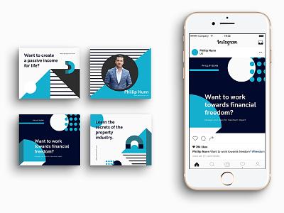 Phillip Nunn Social Media social media design socialmedia social brand branding identity logo design