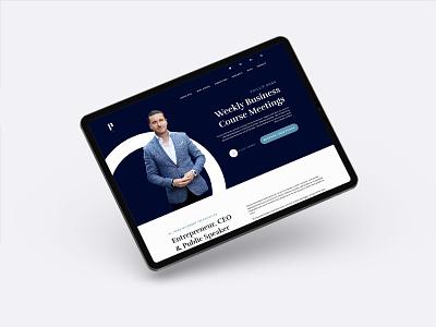 Phillip Nunn Website website design logo design entrepreneur development developer website builder brand identity brand design brand web web design website branding identity logo design