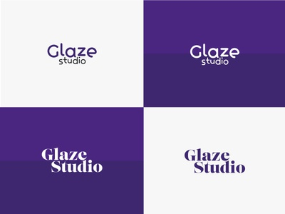 Glaze Studio Logos Ideas // 2016