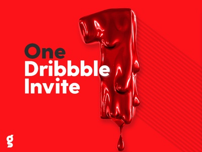 1x Dribbble Invite Giveaway