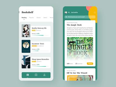 Reading App education reading interface ui book read