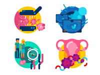 Gynecology Services Icons