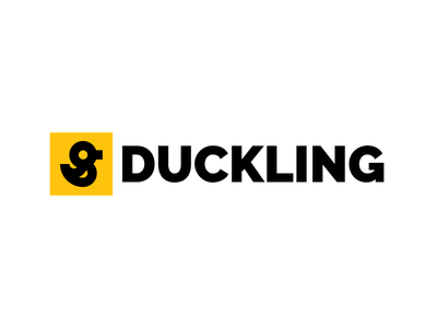 Duckling. accidently accident duckling adobe illustrator logo duck