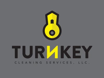 Turnkey Logo typography logo illustration graphic design