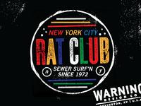NYC Rat Club Sewer Surfers