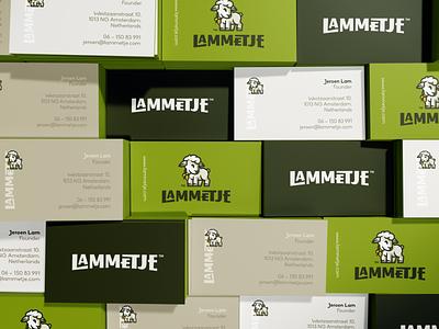Lammetje mascot lettering typo typogaphy character bowtie cute lamb animal illustration branding mark logotype design logo