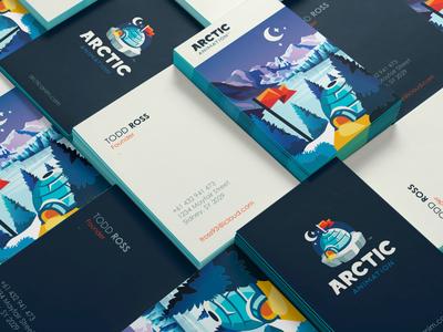 Arcric Animation Business Card