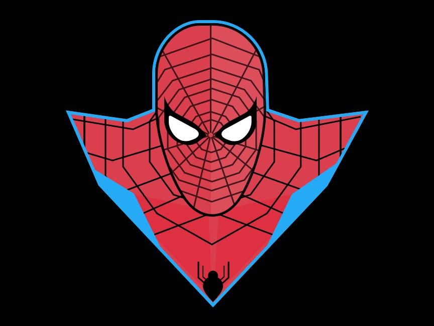 Spiderman vector superhero marvel spiderman