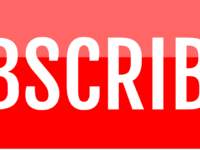 Free sleek red youtube subscribe button by alfredocreates 2