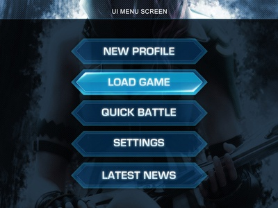 Final Fantasy Ui Art Menu Buttons By Alfredo