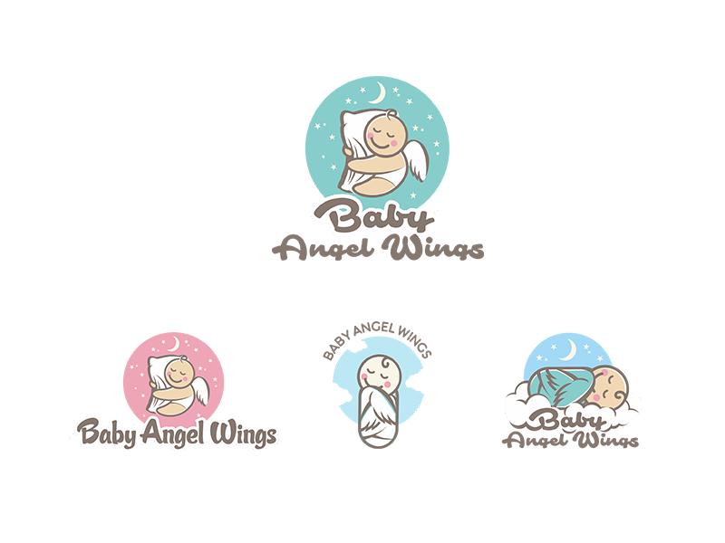 Baby Angel Wings By Mario Strlek Dribbble Dribbble
