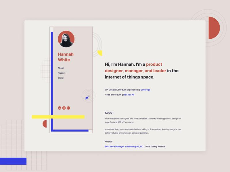 A Little Portfolio Update web design splash website portfolio website showcase portfolio