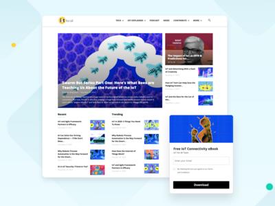 IoT For All Website Design