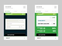 GiftCard Mobile App UI Design