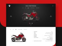 Ducati Multistrada Product Page