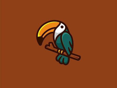 Toucan forsale character animal icon cute unused mascot illustration logo birds toucan