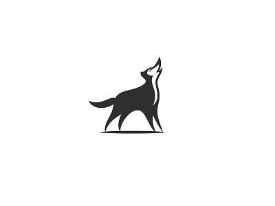 Wolf or Husky? unused illustration logo animal negativespace husky wolf
