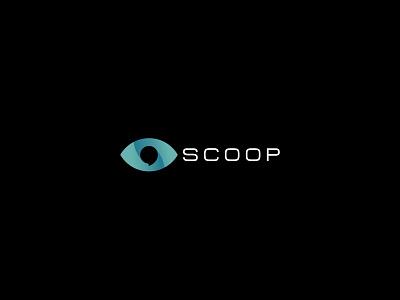 SCOOP logo bubble logogrid unused forsale socmed chat talk eyes