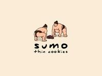 Sumo Thin Cookies