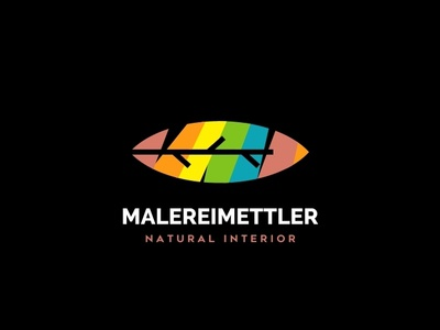 Malereimettler Natural Interior nature leaf logo homedecor painting paint interior design
