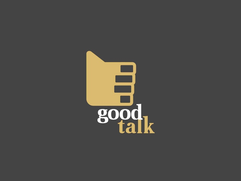 Good Talk forsale illustration icon logo talk good app chat bubble chat thumbs up