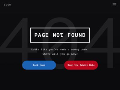 #008 404 page 404 dailyui
