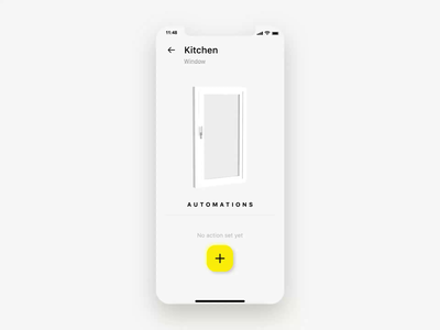 Smart home automation aftereffects 3d smart home card scheduler schedule tilt window design app icon ux ui color mobile