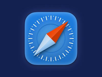 Long time no see 😁 icondesign design grid safari macos icon