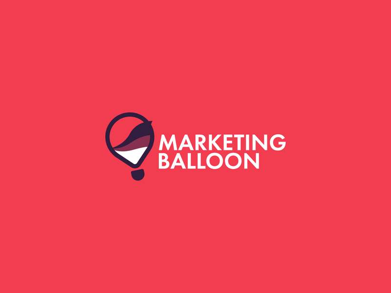Marketing Balloon - Random Designs 7 advertising waves logo design marketing bulb lightbulb lamp balloon