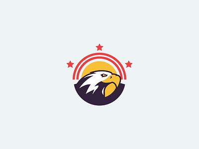 Washington DC logodc red stars star beak bird orange flag sun eagle washington