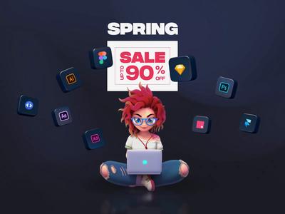 UI8 Spring Sale 2020